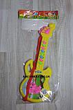 Гитара музыкальная арт 688 ,батарейки,30 см., фото 2