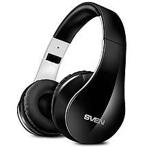Беспроводные наушники SVEN AP-B450MV Black, Bluetooth блютуз гарнитура с микрофоном, фото 2