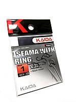 Крючки Kaida Iseama With Ring #1