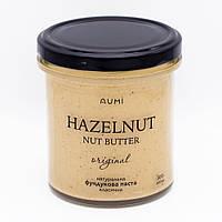 100% фундучная паста, 300г стекло, без сахара и добавок, всегда свежая фундуковая, насыщенный вкус