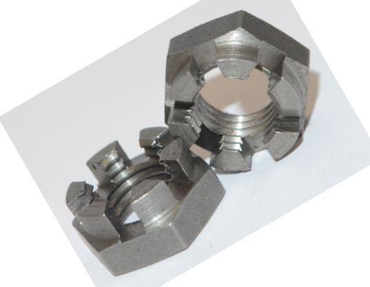 Гайка низька М16 DIN 937, ГОСТ 5919 корончатая, прорізна
