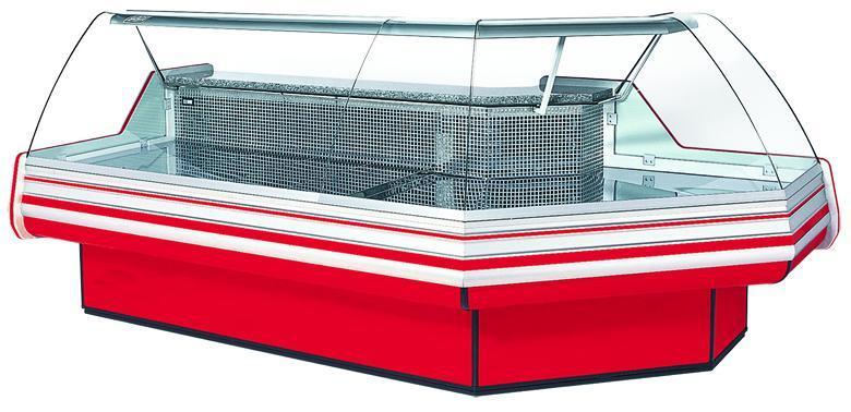 Витрина холодильная угловая внешняя / внутренняя COLD NAPOLI NW/NZ