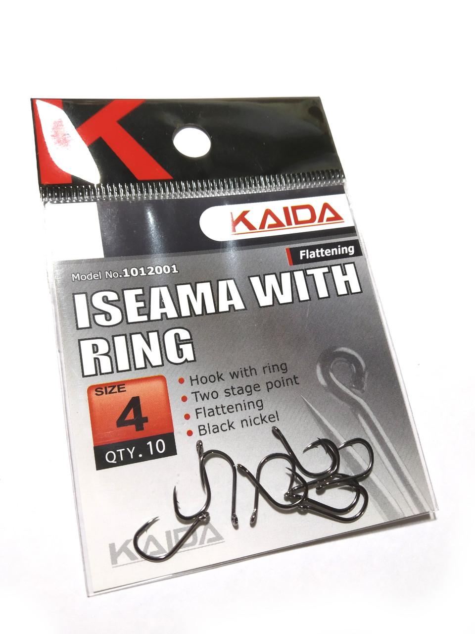 Крючки Kaida Iseama With Ring #4