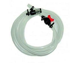 Шланг с фильтром и краном для инжектора 1/2-3/4 дюйма