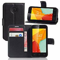 Чехол книжка для Vodafone Smart Ultra 7 Черный
