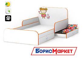 Кровать Mandarin MatroLuxe c защитными бортиками