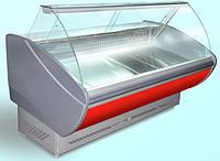 Холодильная витрина Каролина 1.6 ПВХС Технохолод
