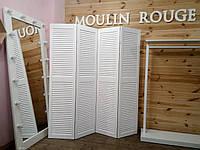 Ширмы-жалюзи деревянные 1700х1600 мм.