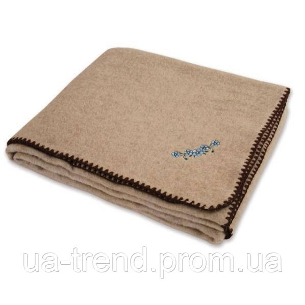 Одеяло шерсть/лён 140х205
