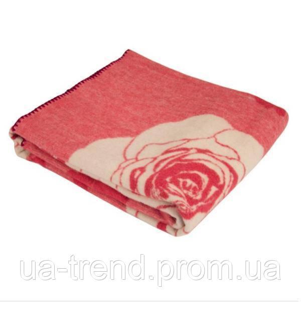 Полуторное одеяло шерстяное 140х205