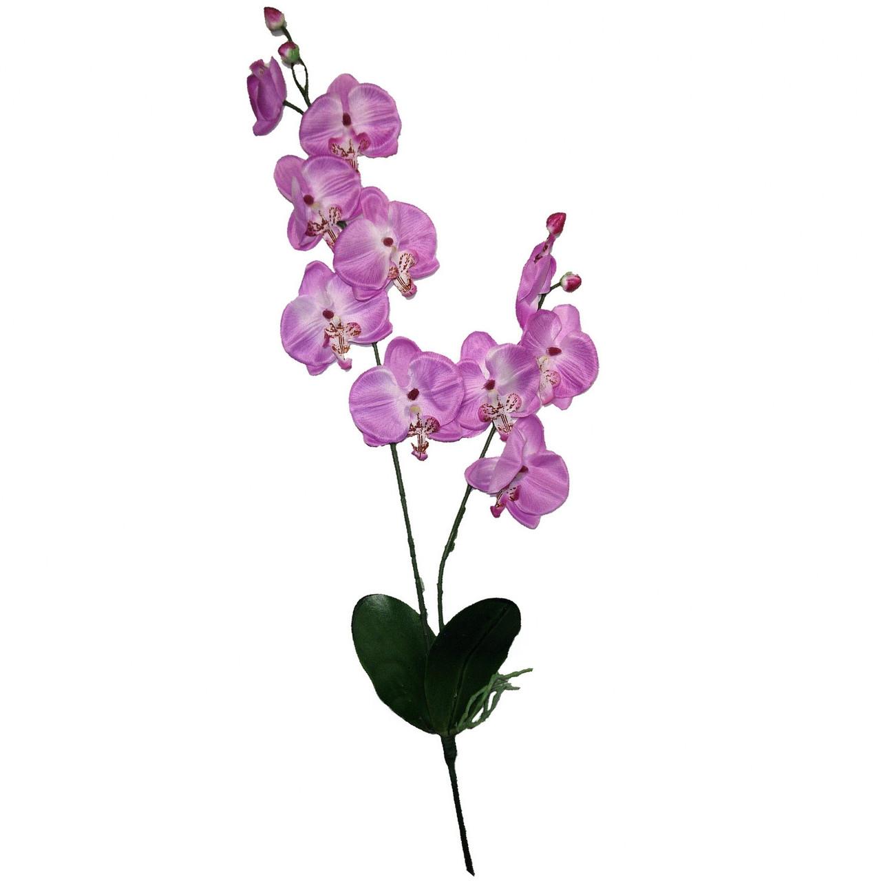 Орхидея искусственная фаленопсис  для заливки 73 см