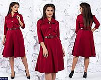 Стильное платье     (размеры 48-58)  0148-32, фото 1