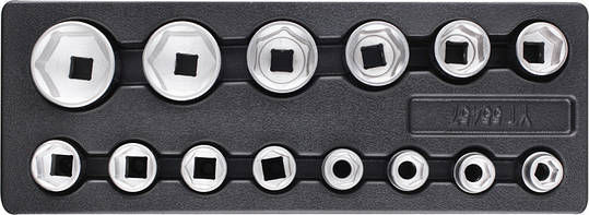 Набор торцевых ключей 14 шт YATO YT-55457, фото 2