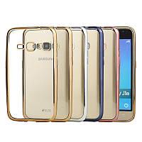 Чехол силиконовый прозрачный на Samsung J120 Galaxy J1 2016