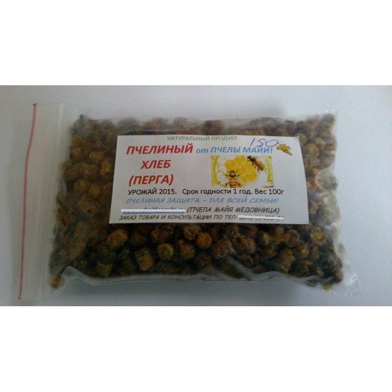 Пчелиная перга Хлеб, 100 грамм