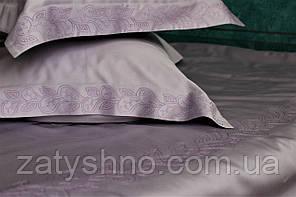 Постельное белье сатин Лаванда с вышивкой