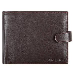 Мужское портмоне кожаное WALLACE 120х95х20 тр401кор, фото 2