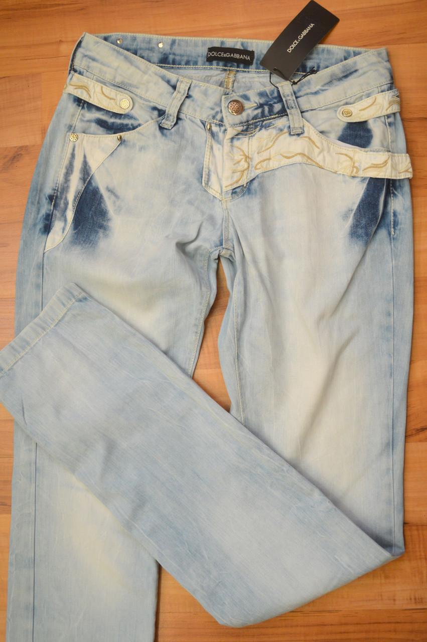 Модные джинсы женские лето