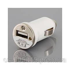 Автоадаптер на 1 USB