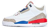 Мужские кроссовки Nike Air Jordan 4 Retro White (найк аир джордан 4, белые)