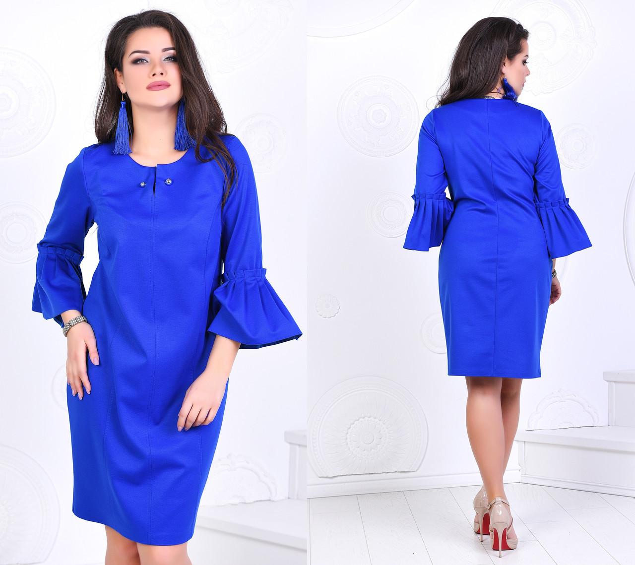 Женское модное платье  ВЛ278 (бат)