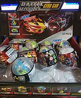 Машинка Гиро кар. Battle cyro car в яйце