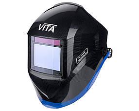 Сварочная маска хамелеон 3-A Pro TrueColor (цвет металлические соты черные)