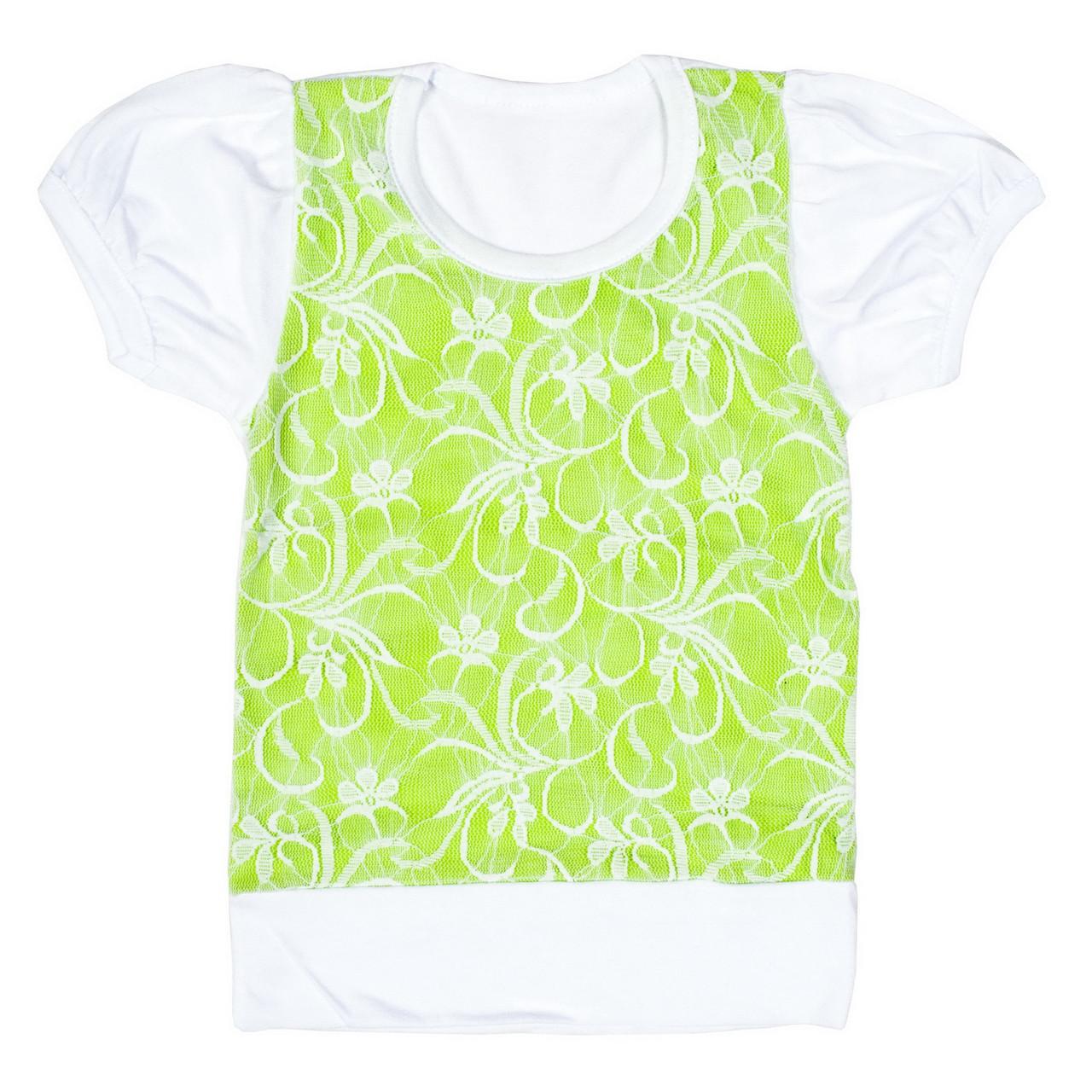 Блузка для девочки гипюр