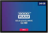 SATA-SSD-TLC 240GB GoodRAM CL100 G2 (SSDPR-CL100-240-G2)