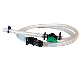 Шланг с фильтром и краном для инжектора Вентури 1-1½ дюйма