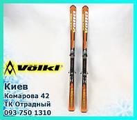 Горные лыжи Volkl Race tiger 173 см лижи с креплениями