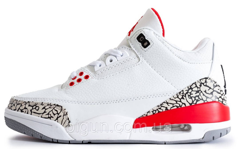 5a6128f9 Баскетбольные кроссовки Nike Air Jordan 4 Retro White (найк аир джордан 4,  белые)