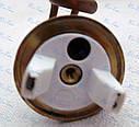 Тэн для бойлера на латунном фланце 48мм 1,5кВт (1500Вт ), короткие выходы клемм (Тенко, Украина), фото 4