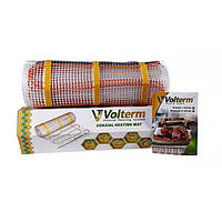 Нагревательный мат Volterm (Украина) Classic Mat 1500 Теплый электрический пол, фото 1