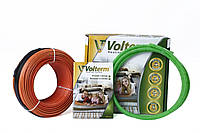 Тонкий нагревательный кабель Volterm (Украина) HR12 450 Теплый электрический пол, фото 1