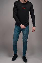 Свитшот мужской Prada черный топ реплика