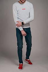 Свитшот мужской Prada белый топ реплика