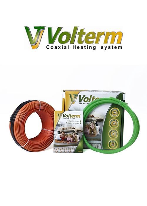 Нагревательный кабель Volterm (Украина) HR18 1500 Теплый электрический пол в стяжку