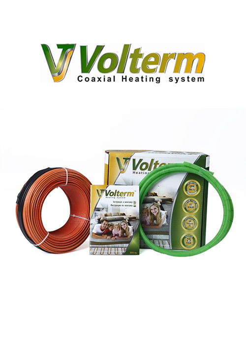 Нагревательный кабель Volterm (Украина) HR18 2900 Теплый электрический пол в стяжку