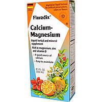 Раствор магния и кальция (Magnesium Calcium), Flora, 250 мл