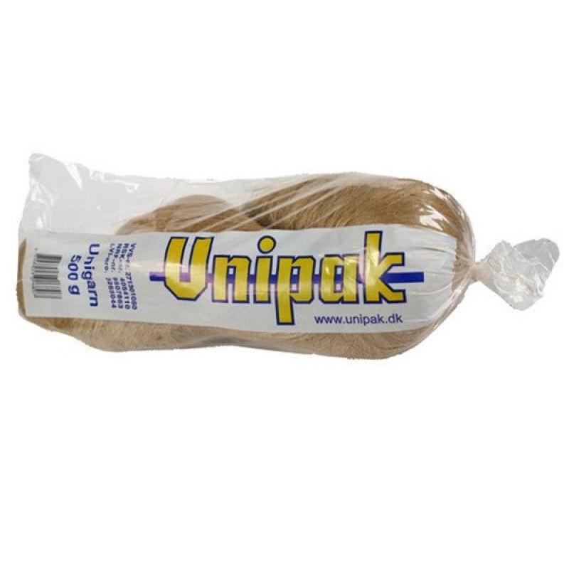 Unigarn - льняные волокна  (500 г косичка в упаковке)