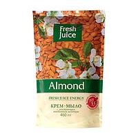 Крем-мыло жидкое FRESH JUICE дой-пак, 460 мл, с увлажняющим миндальным молочком Almond