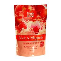 Крем-мыло жидкое FRESH JUICE дой-пак, 460 мл, с глицерином Peach (персик)