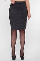 Женская модная юбка с пуговицами впереди (2 цвета), фото 1