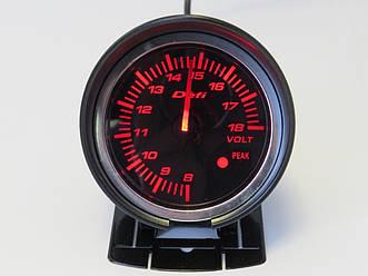 Дополнительный прибор DEFI 60251 v2 вольтметр 60мм