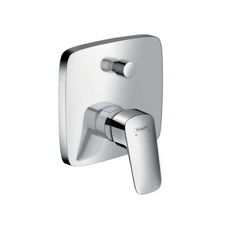 Hansgrohe Logis 71405000 Смеситель для ванны, скрытый монтаж