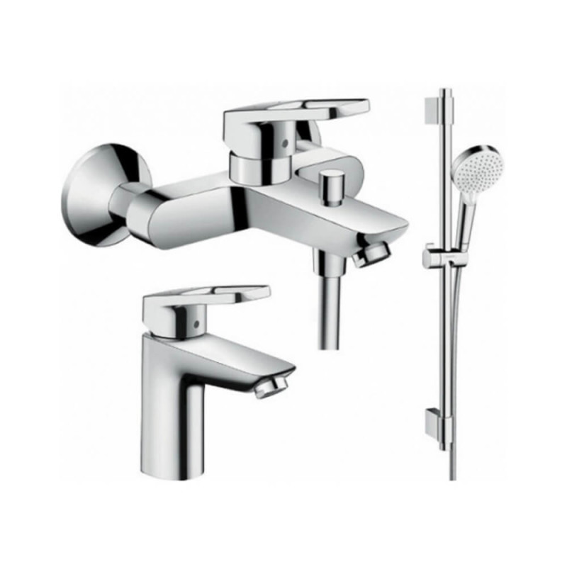 Hansgrohe LogisLoop 1062017 набор смесителей для ванны, умывальник 100