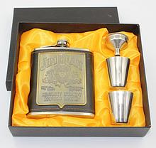Фляга «Jim Beam» 7 унций в подарочной коробке