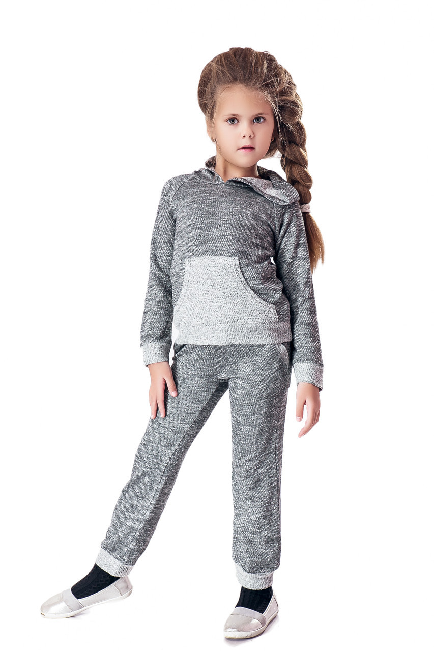 Спортивный костюм LiLove 1-032 116-122 серый