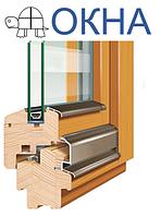 Окна из дерева,энергосберегающие